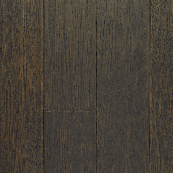Hardwood flooring white oak coffee handscraped for Laurentian laminate flooring
