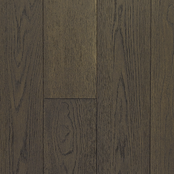 Hardwood flooring white oak weathered stone brushed for Laurentian laminate flooring